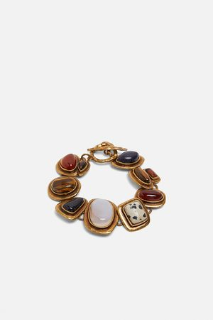 Zara Armbånd med rhinsten med kontrast – limited edition