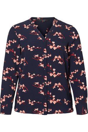 Vero Moda Kvinder Casual - Printed Shirt Kvinder Blå