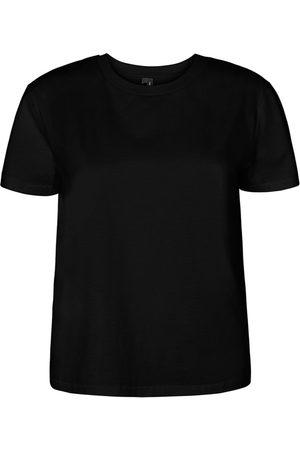 Vero Moda Kvinder Kortærmede - Regular Fit T-shirt Kvinder Sort