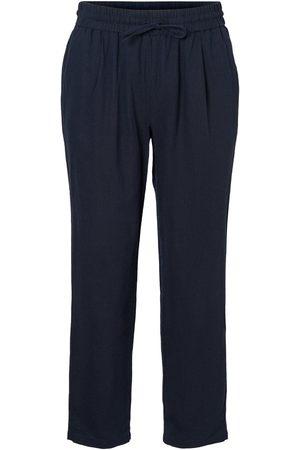 Vero Moda Ankle Trousers Kvinder Blå