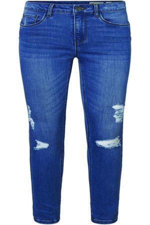 Vero Moda Shape Up Slim Fit Jeans Kvinder Blå