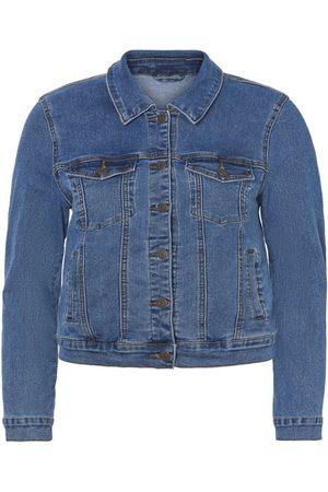 Vero Moda Regular Fit Denim Jacket Kvinder Blå