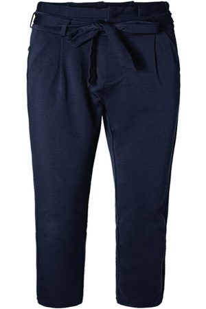 Vero Moda High Waisted Paperbag Trousers Kvinder Blå