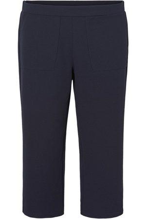 Vero Moda High Waisted Ankle Trousers Kvinder Blå