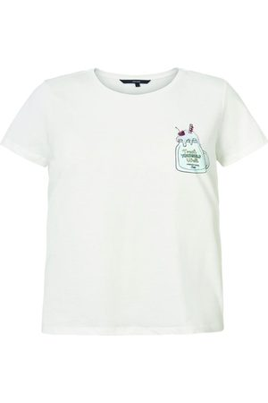 Vero Moda Front Printed T-shirt Kvinder White