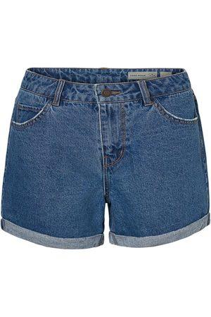Vero Moda Kvinder High waist - High Waisted Denim Shorts Kvinder Blå