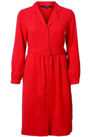 Vero Moda Tie-belt Midi Dress Kvinder Rød