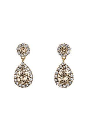 LILY AND ROSE Kvinder Øreringe - Petite Sofia Earrings Light SIlk One size