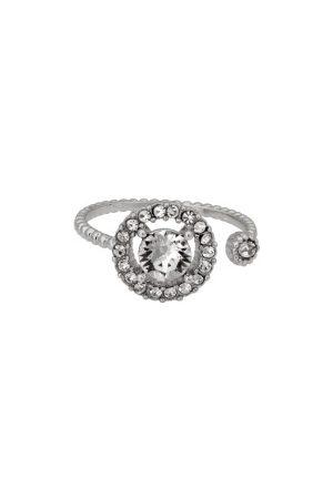 LILY AND ROSE Kvinder Ringe - Miranda Ring Crystal One size