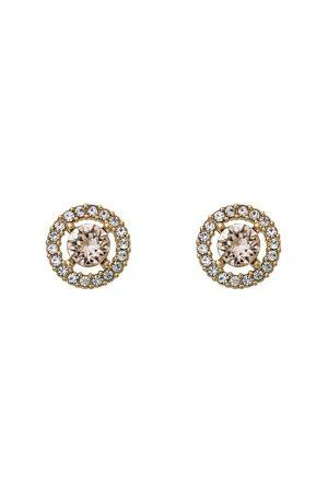 LILY AND ROSE Kvinder Øreringe - Miss Miranda Earrings Light Silk One size