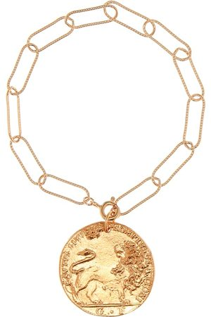Alighieri Il Leone 24kt plated bracelet
