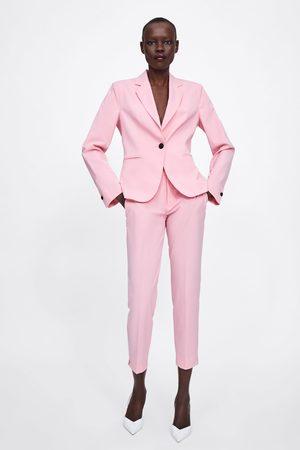 Zara Skinny bukser med slidser forneden