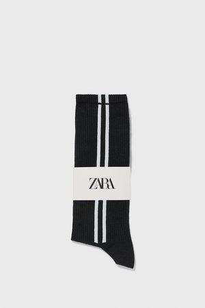 Zara Strømper med striber på siden