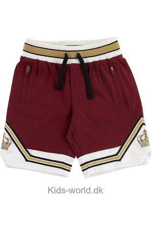 Dolce & Gabbana Drenge Shorts - Sweatshorts - Bordeaux