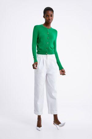 Zara Kvinder Cardigans - Cardigan med knapper