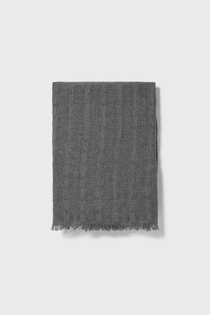 Zara Mænd Tørklæder - Basic, strukturvævet tørklæde