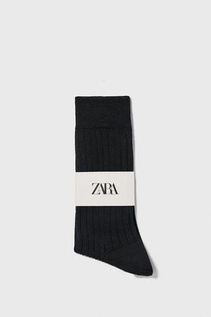 Zara Premium quality merceriserede strømper i rib