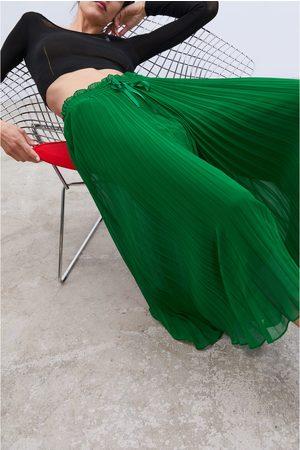 Zara Plisserede culottebukser