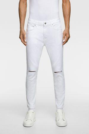 Zara Denim bukser med huller skinny fit