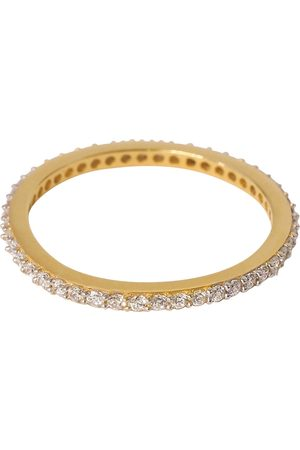 syster P Tiny Sparkle Ring Gold Crystal Ring Smykker Guld