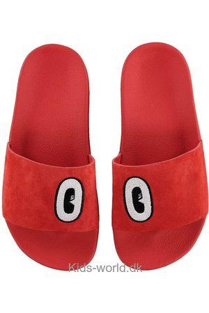 adidas Piger Sandaler - Badesandaler - Adilette - Active Red m. Øjne
