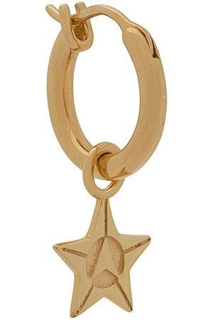 NORTHSKULL Hoop-øreringe med stjerner