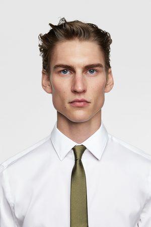 Zara Teksturvævet smalt slips