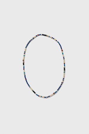 Zara Halskæde med blå perler