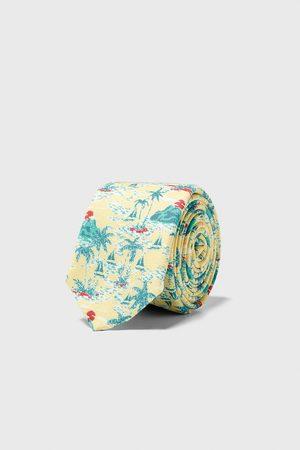 Zara Smalt slips i jaquard