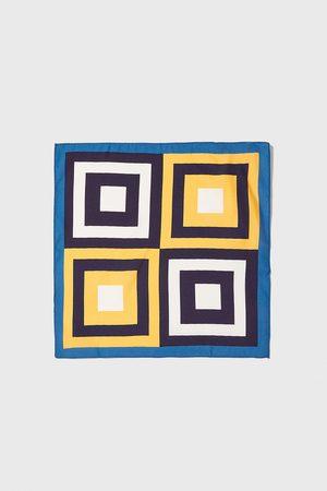 Zara Tørklæde med firkantetmønster