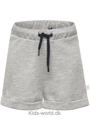 Hummel Piger Shorts - Sweatshorts - Demi - Gråmeleret m. Glimmer
