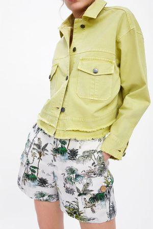 Zara Jacket with frayed hem