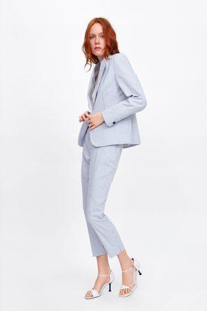 Zara Stribede bukser slim fit