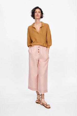 Zara Culottebukser med knapper