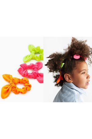 Zara Pakke med 3 hårelastikker i neonfarver