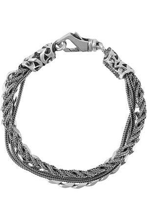 EMANUELE BICOCCHI Armbånd med flettet kæde