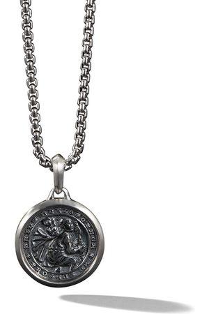 David Yurman St. Christopher Amulet-halskæde