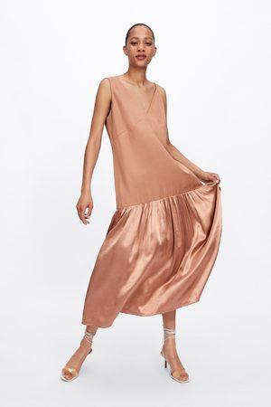 Zara Kombineret, asymmetrisk kjole
