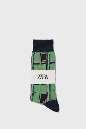 Zara Merceriserede strømper med tern