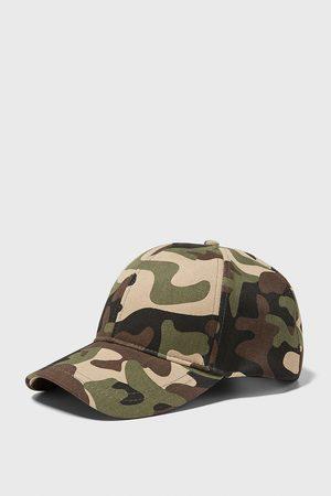Zara Kasket med camouflage print