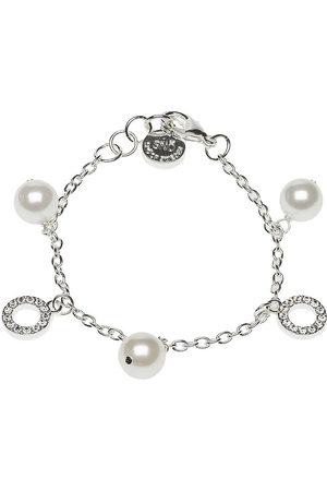 SNÖ of Sweden Kvinder Armbånd - Doris Charm Brace Accessories Jewellery Bracelets Chain Bracelets Sølv