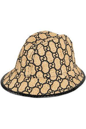 Gucci GG-fedora-hat med slangeskindseffekt