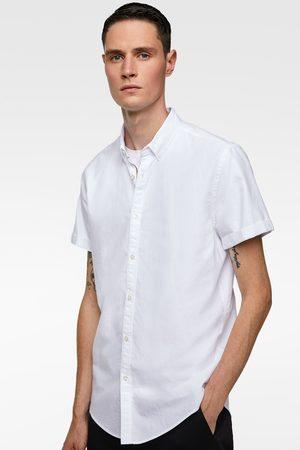 Zara Kortærmet skjorte