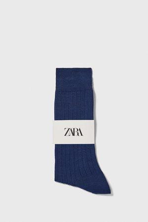 Zara Mænd Strømper & Sokker - Premium quality merceriserede strømper i rib