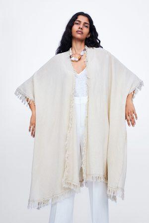 Zara Lang kimono med pyntebort
