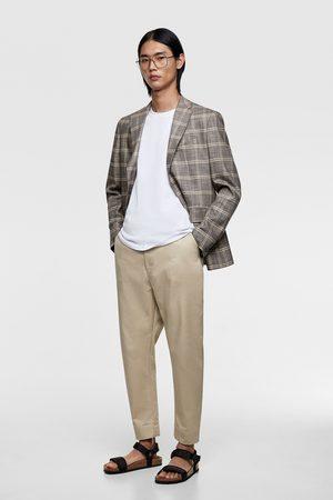 Zara Wide-leg trousers with brace