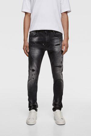 Zara Skinny jeans med læg