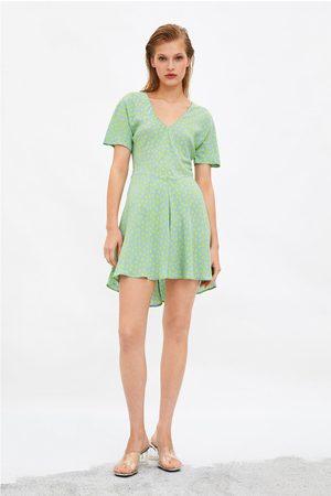 Zara Mønstret kjole