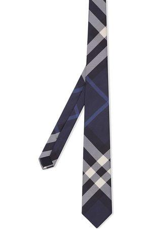 Burberry Ternet slips i silke med klassisk pasform