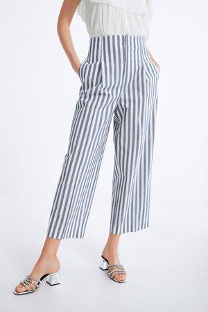 Zara Bukser med brede ben og plissering